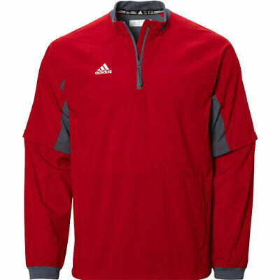 Adidas Mens Climalite Fielders Choice Convertible 1/4-Zip Jacket