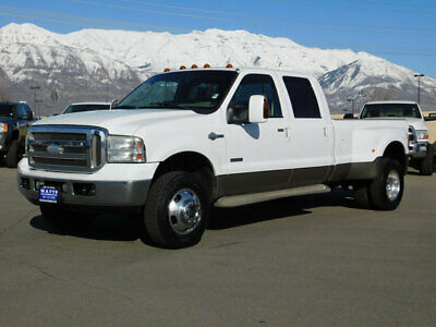 2006 Ford Super Duty F-350 KING RANCH FORD CREW CAB DUALLY KING RANCH 4X4 POWERSTROKE DIESEL LONGBED LEATHER AUTO TOW