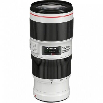 Canon EF 70-200 mm F4 L IS II USM Ultrasonic Garanzia canonpass 4 Anni