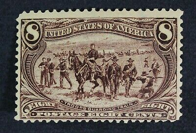 CKStamps: US Stamps Collection Scott#289 8c Mint H OG Spot Thin CV$150