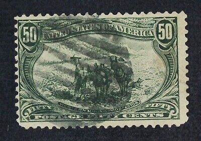 CKStamps: US Stamps Collection Scott#291 50c Used CV$200