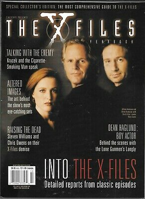 Cinescape Presents The X-Files Magazine Yearbook Vol 5 #9 1999 (Vf/Nm)