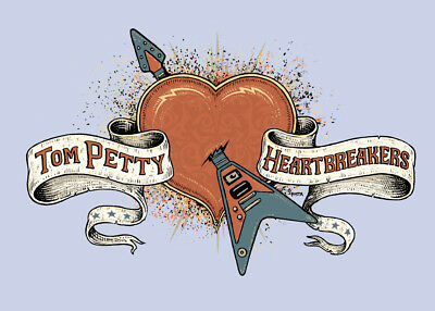 "Tom Petty & the Heartbreakers  Band Logo     FRIDGE Magnet 2.5"" x 3.5"""