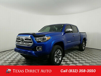 2018 Toyota Tacoma Limited Texas Direct Auto 2018 Limited Used 3.5L V6 24V Automatic 4WD Pickup Truck