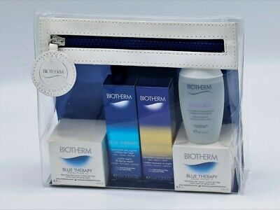 Biotherm Blue Therapy Set Cleaner+ Face Cream+ Wrinkle Serum+Wrinkle Night Serum
