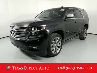 2017 Chevrolet Tahoe Premier Texas Direct Auto 2017 Premier Used 5.3L V8 16V Automatic RWD SUV Bose OnStar