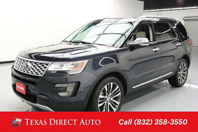 2017 Ford Explorer Platinum Texas Direct Auto 2017 Platinum Used Turbo 3.5L V6 24V Automatic 4WD SUV Premium