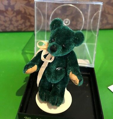 Manufactured World Of Miniature Bears Dudley Mohair By Leeann Snyder Ltd Edition In Case Cert