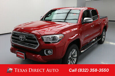 2017 Toyota Tacoma Limited Texas Direct Auto 2017 Limited Used 3.5L V6 24V Automatic RWD Pickup Truck