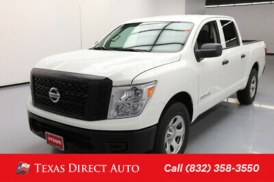 2017 Nissan Titan S Texas Direct Auto 2017 S Used 5.6L V8 32V Automatic RWD Pickup Truck
