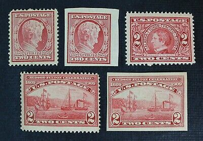 CKStamps: US Stamps Collection Scott#367/372 Mint 4H OG, #370 NH, #368 Crease