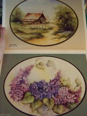 Simply Country Watercolor Susan Scheewe Brown 1992 Landscapes Flowers Birds