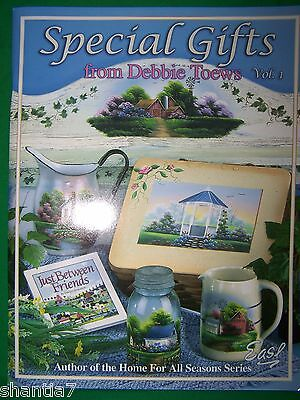 Special Gifts V1 By Debbie Toews 2003 Landscapes Cottages Barns Tole Paint