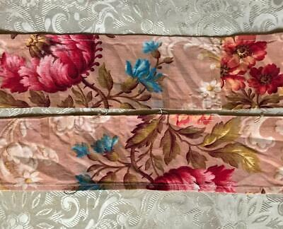 1.59 m NARROW PIECE BEAUTIFUL 19th CENTURY FRENCH LINEN & COTTON, PROJECTS 145.