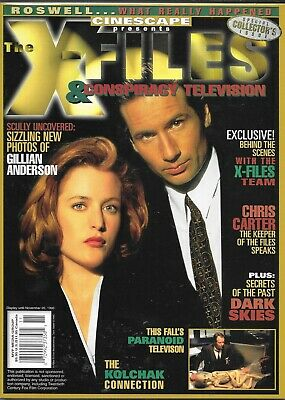 Cinescape Presents The X-Files & Conspiracy Television Magazine (Vf)