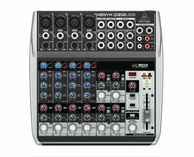 Behringer Q1202USB 12-Channel Analog Mixer with USB Audio Interface