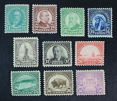 CKStamps: US Stamps Collection Scott#692-701 Mint H OG