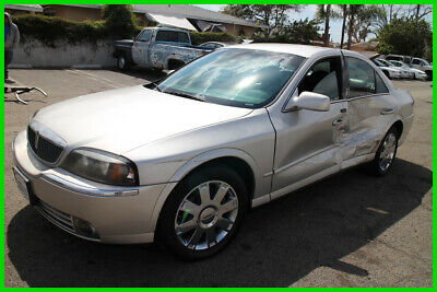 2004 Lincoln LS V6 2004 Lincoln LS Automatic 6 Cylinder Low Miles No Reserve