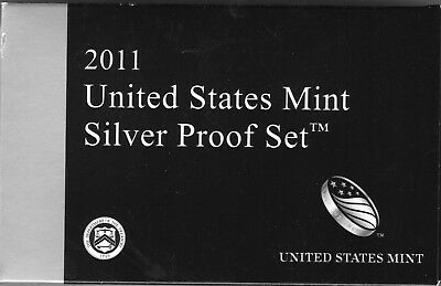 2011 US Mint Silver Proof Set in Original Packaging with COA 14 Coins