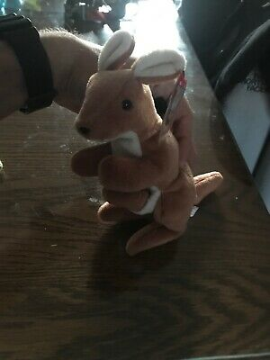 c61684a5194 TY VERY RARE POUCH - Style 4161 BEANIE BABY WITH ERRORS -  95.00 ...