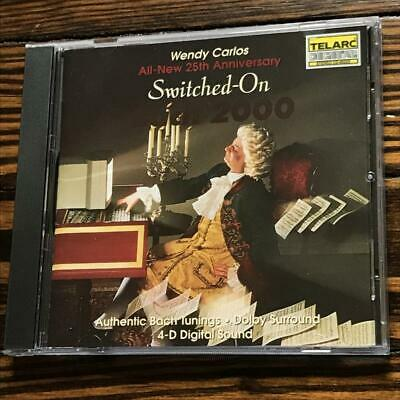 Wendy Carlos / Switched on Bach 2000 (Telarc CD-80323) - Wendy Carlos - Audio CD