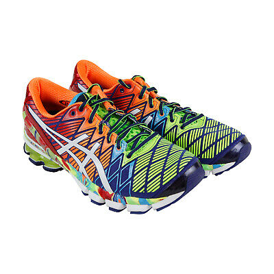 new arrival a206a 5f836 Asics Gel Kinsei 5 Mens Green Synthetic   Textile Athletic Running Shoes 7.5