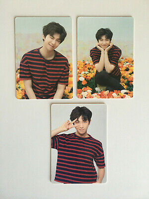 BTS Love Yourself World Tour Japan Official Mini Photocard RM - Select Version