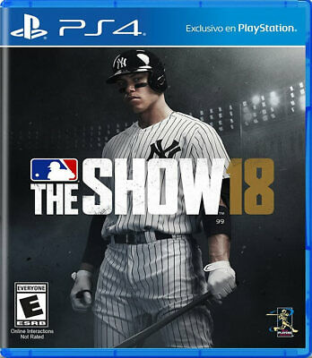 MLB 18 The Show PS4 New playstation_4