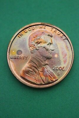 Florida Toned 2006 S Lincoln Memorial Cent Proof Flat Rate Shipping TOM100