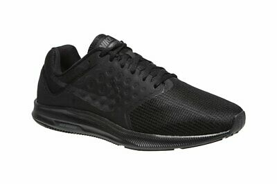 b874a17fafb1 NIB MEN S NIKE 852459 001 Downshifter 7 Black Running Sneakers Shoes ...