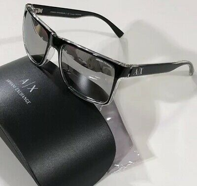 2eafca5a7a1e NWT A X ARMANI EXCHANGE Men s AX 4016 8221Z3 MIRROR POLAR SUNGLASSES 57 17