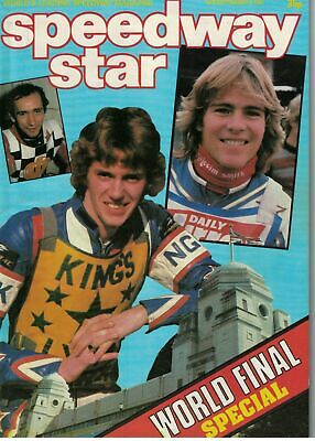 Speedway Star Magazine 5 September 1981 World Final Special 5669F