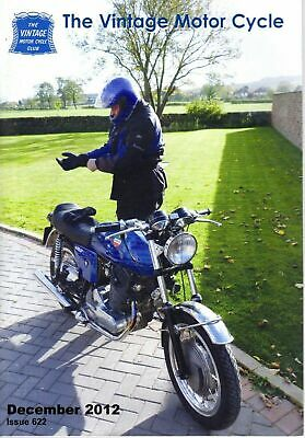 THE VINTAGE MOTOR CYCLE MAGAZINE  622 DECEMBER 2012 503cc UP JENKINS SPECIAL