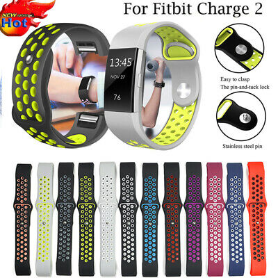 Replacement Strap For FitBit Charge 2 Sports Bracelet Watch Wristband Band Soft