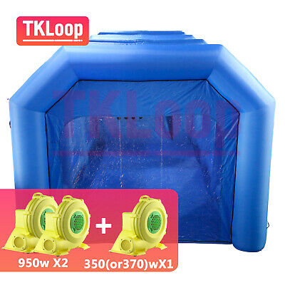 Inflatable Spray Booth Custom Tent Car Paint Booths Inflatable Car (39x16x13Ft)