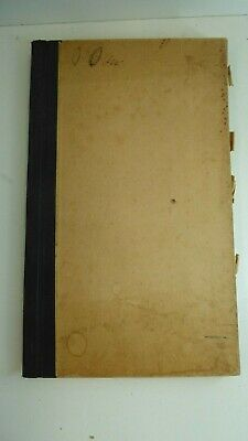 Old Stamp Collection Album Pre Decimal Australian & Overseas Antique
