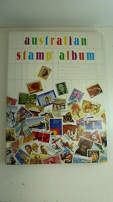 Stamp Collection Album Australian & Overseas