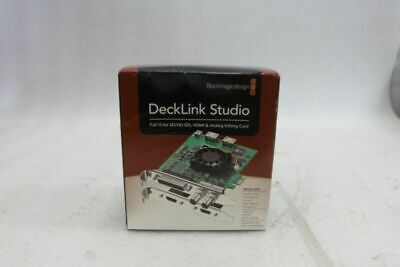 Blackmagic Design Decklink Studio Full SD HD SDI HDMI Capture Playback Card -New