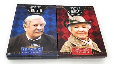 Agatha Christie Collection featuring Helen Hayes & Peter Ustinov DVD LOT