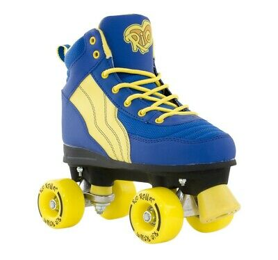 Rio Roller Pure Kids/Adult Quad Roller Skates Blue/Yellow