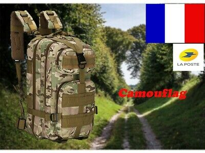 Tactical Bag sac à dos randonnée de 30L