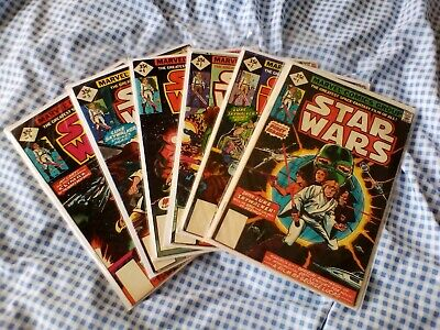 Star Wars (1977) 1,2,3,4,5,6, reprint.