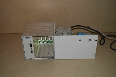 ^^ NATIONAL INSTRUMENTS SCXI-1000 4-SLOT CHASSIS w/ PS5R-C24 POWER SUPPLY