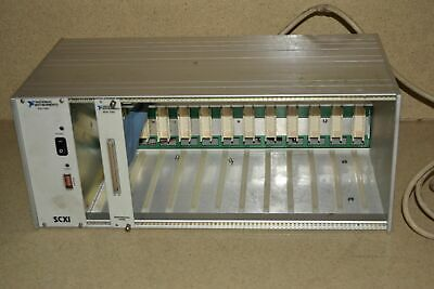 National Instruments Scxi-1001 12 Slot Rack Scxi Mainframe (D1)