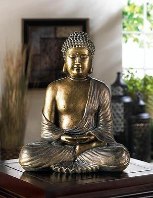 NEW SITTING BUDDHA STATUE, Nice Decor Item. FREE SHIPPING