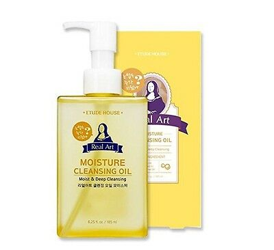 Etude House Real Art Cleaning Oil Moisture Advanced 185Ml