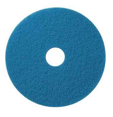 """Americo 400418 Blue Cleaner Floor Scrubbing Pads 18"""" 5 PerBox, (4 Boxes)"""