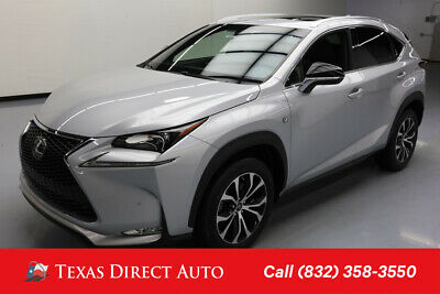 2015 Lexus NX AWD F SPORT 4dr Crossover Texas Direct Auto 2015 AWD F SPORT 4dr Crossover Used Turbo 2L I4 16V Automatic