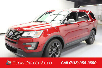 2017 Ford Explorer XLT Texas Direct Auto 2017 XLT Used 3.5L V6 24V Automatic FWD SUV Premium