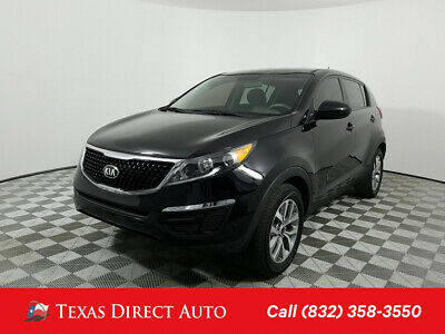 2016 KIA Sportage LX Texas Direct Auto 2016 LX Used 2.4L I4 16V Automatic FWD SUV